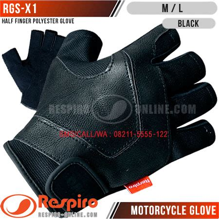 sarung tangan respiro rgs x1 synthetic leather gloves