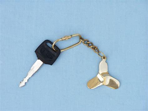 boat propeller keychain wholesale brass propeller key chain wholesale keychain
