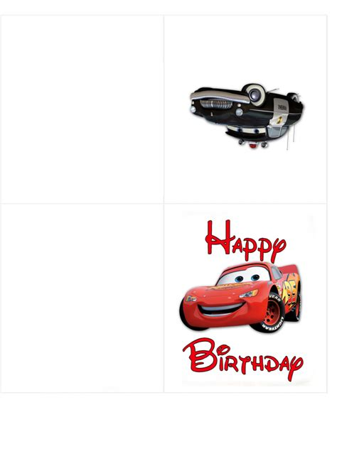 Printable Birthday Cards Cars | happy birthday borders cliparts co