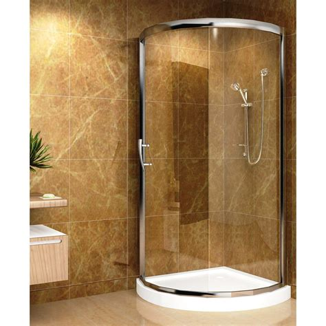 round showers bathroom aston sd908 iii round shower enclosure with acrylic shower
