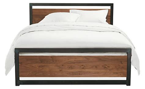 room and board bedroom furniture piper wood panel bed in natural steel beds bedroom