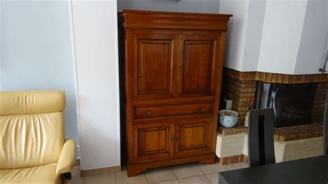 Tv Armoire Meuble Style Louis Philippe Clasf
