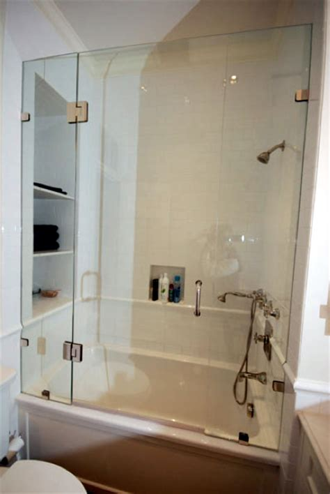 bathtub with glass enclosure frameless glass tub enclosure archives frameless glass
