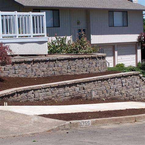 retaining walls portland oregon terra sol landscaping
