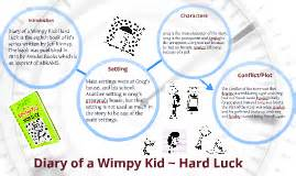 Luck Book Report diary of a wimpy kid luck by danny harrison on prezi