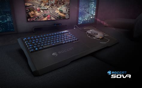 pc gaming on the couch roccat sova lapboard for pc gaming on the couch gaming combo