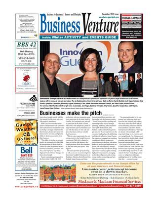 Business Venture December 2012 and Winter Activity and Events Guide by ventureguelph   issuu
