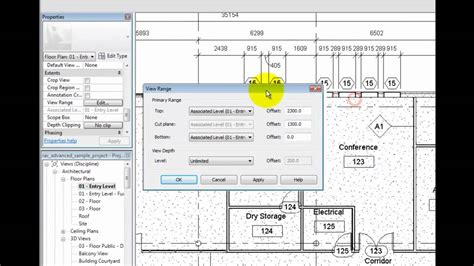 revit tutorial view range revit architecture 2011 tutorial understanding plan view