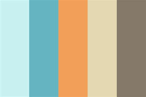 coastal paint color schemes inspired from the