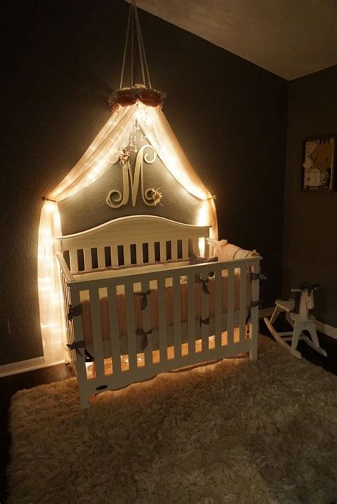 baby crib with canopy 25 best ideas about bed canopy with lights on
