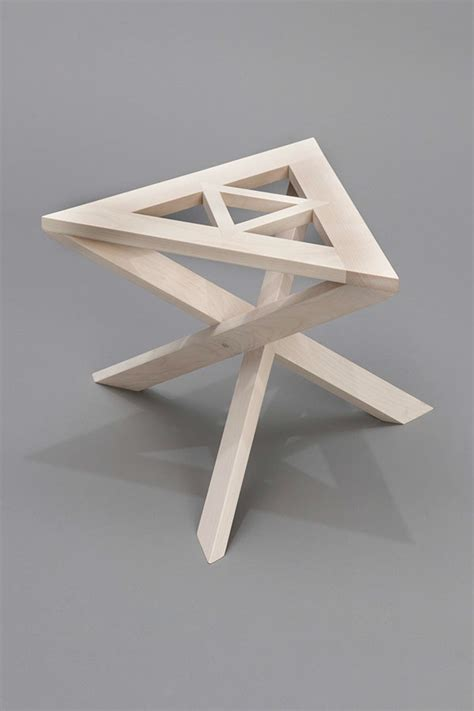 Continuous Stool by Continuous Triangle Stool On Behance