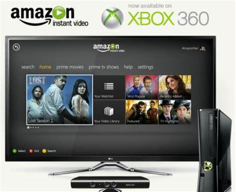 amazon instant video app hits google tv slashgear xbox 360 adds amazon instant video slashgear