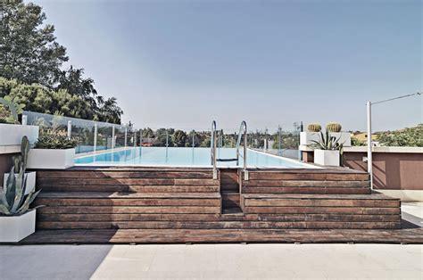 piscina esterna da giardino piscina esterna in legno casa affini
