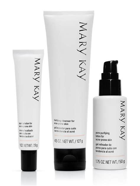 Sistema de Cuidados da Pele com Tendência à Acne Mary Kay®