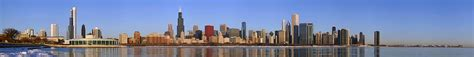chicago skyline buildings identified list of tallest buildings in chicago
