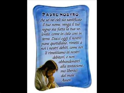 padre nostro in testo padre nostro