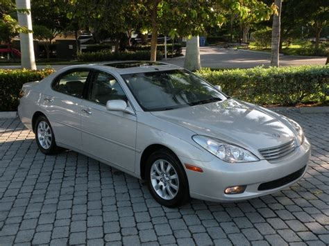 lexus es 2003 2003 lexus es 300 sedan fort myers florida for sale in