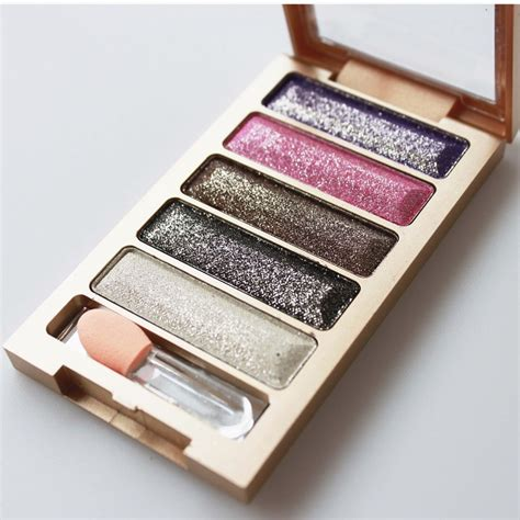 Eyeshadow Quality 5 color bright eye shadow palette eyeshadow high quality glitter makeup sets