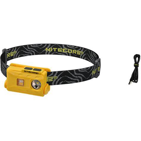 Nitecore Nu25 Headl Cree Xp G2 S3 360 Lumens Nitecore Nu25 Usb Rechargeable Led Headl Yellow Nu25 Yellow