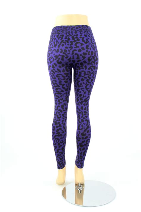 Womens Robo Legging Print Compression womens plus size leopard animal print color length cheetah spandex ebay