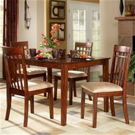 Tribecca Dining Room Set by Tribecca Home Burnished Cherry 5 Mission