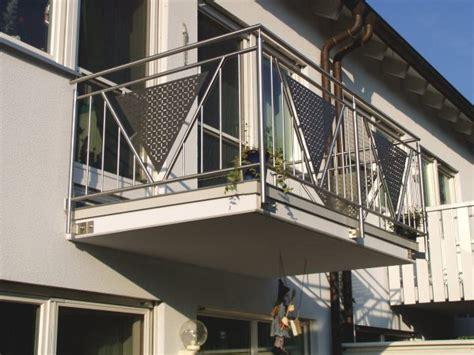 Balkongeländer Aus Edelstahl by Balkone