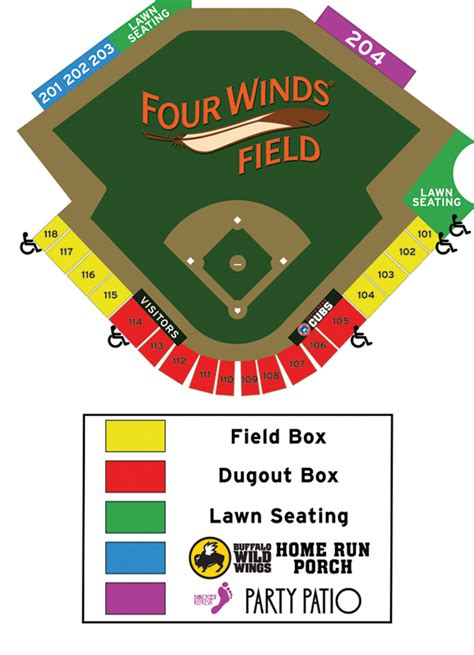 cubs stadium seating chart seating chart south bend cubs content