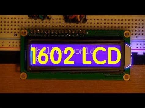lcd display  arduino ti