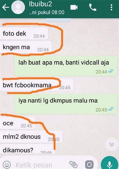 kelakuan lucu emak emak pengguna whatsapp bikin ngakak