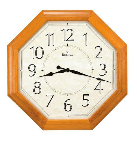 wall clocks extra large wall clock bulova abberly