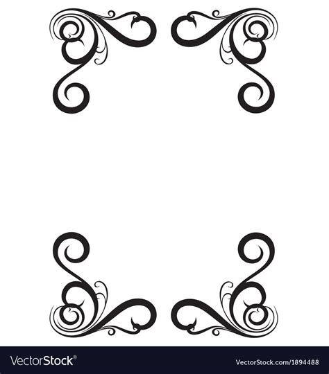 decorative drawing borders page border vector www pixshark images galleries