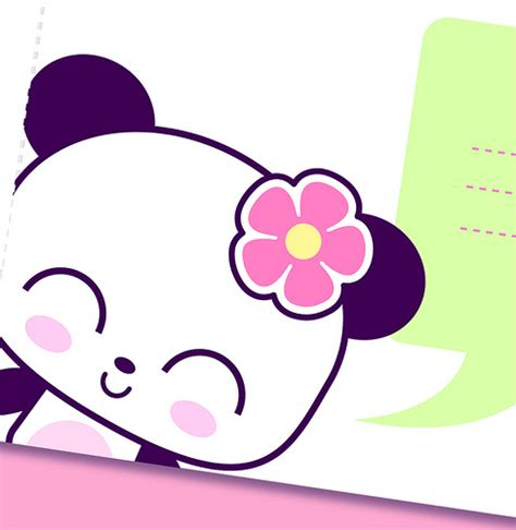 imagenes de dibujos kawaii tiernos printable panda kawaii stationery you can print and make