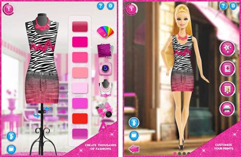 design doll clothes online barbie fashion designer doll game style jeans