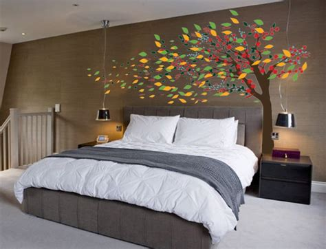 Sleeping Tree Wall Decor Decal Beautiful Interior The Of 3rdeye Bedroom Graffiti Murals