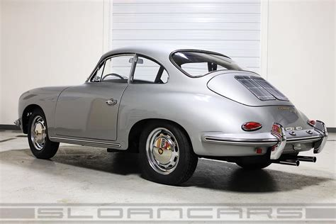 porsche silver 1964 porsche 356 sc gt recreation silver restored sloan cars