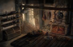 Medieval Kitchen Design Reminds Me Of The Anyone Home In Griffinfall When The