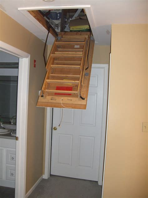 file attic ladder opening jpg wikimedia commons