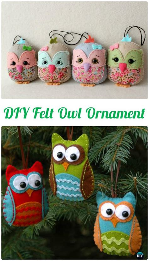 diy owl crafts 10 diy sew owl craft projects for home decoration