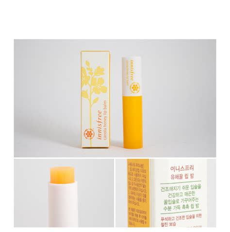 Innisfree Honey Lip Balm 3 5g innisfree canola honey lip balm 3 5g exp jul 18 hermo