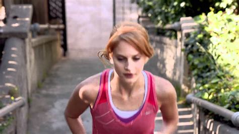 commercial girl running nike free run commercial girl nhs gateshead