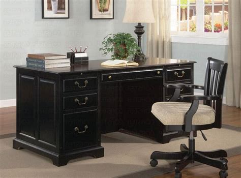 Office Black Executive Desk Furniture Black Executive Black Executive Office Desk
