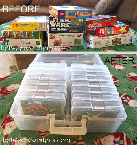 puzzle storage organizing board and puzzles organize 365