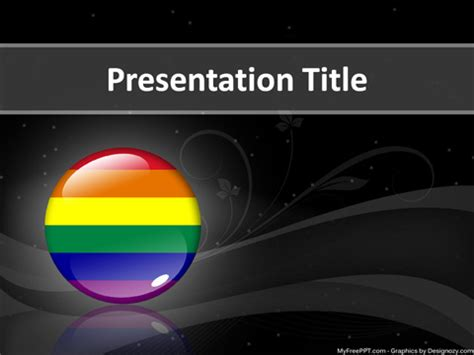 Free Lgbt Powerpoint Template Download Free Powerpoint Ppt Free Lgbt Powerpoint Templates