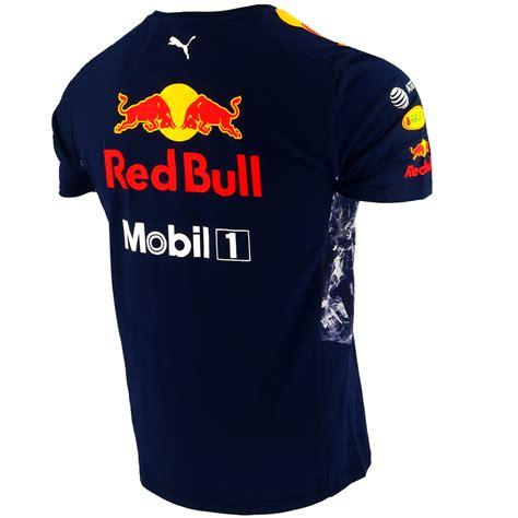 Kaos Redbull Tshirt T Shirt Tees bull infiniti f1 racing team drivers t shirt official 2017 ebay