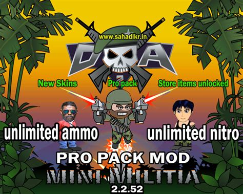 full version mini militia mini militia mod apk 4 0 36 download latest version