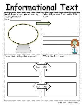 printable graphic organizer for informational writing search results for summarizing nonfiction graphic