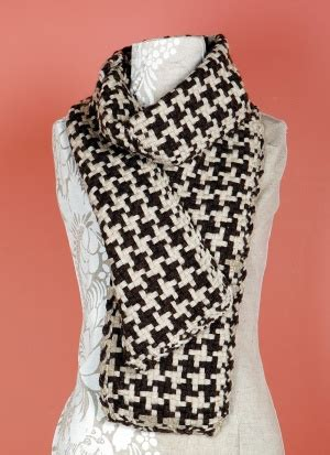 how to knit houndstooth free crochet pattern hooded cowl brand yarn company