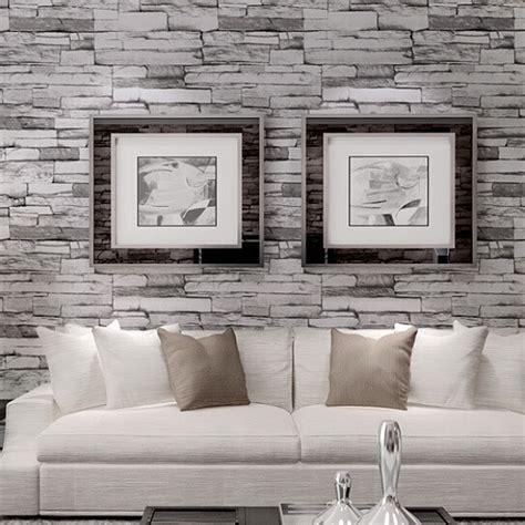 3d wallpaper for walls nz 10m 3d wallpaper roll pvc brick grain waterproof wallpaper