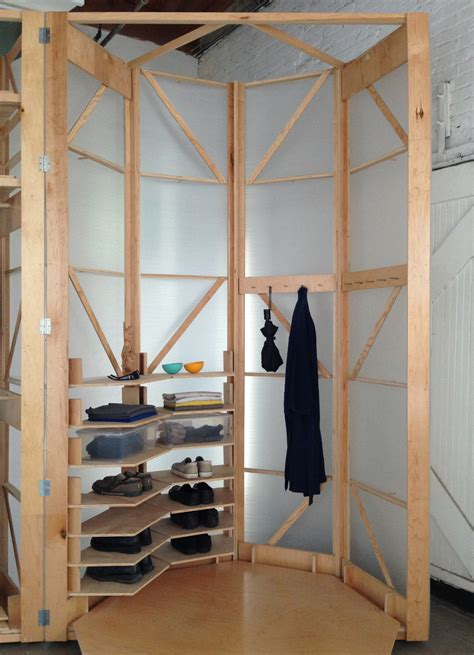 tuberoom a mobile walk in closet that is functional and