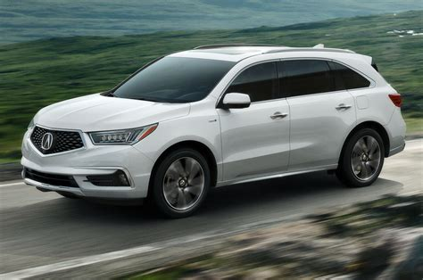 hybrid acura 2019 acura mdx sport hybrid changes and price 2018 car